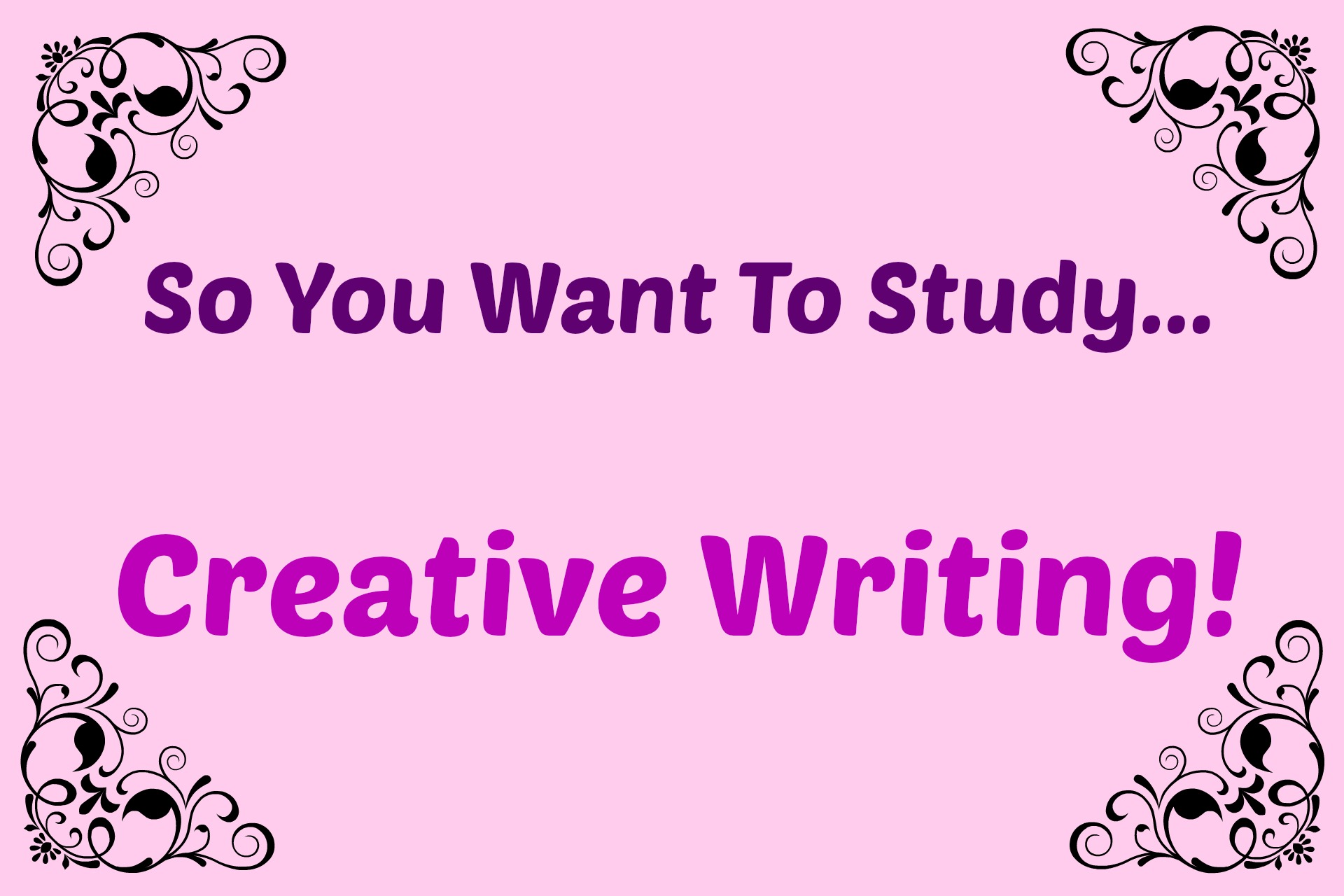 Creative Writing subjects to major in college